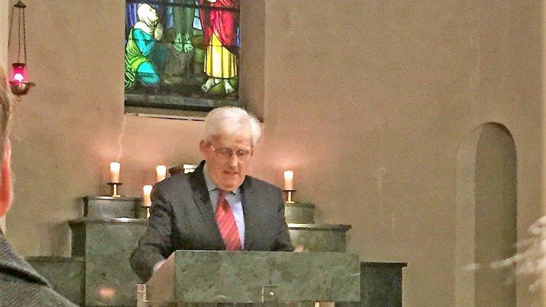Ständerat Hans Stöckli als Festprediger