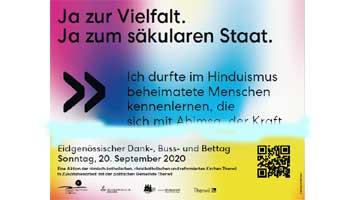 Ja zur Vielfalt – Ja zum säkularen Staat