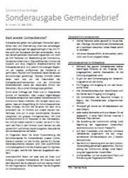 Sonderausgabe Gemeindebrief Baselland & Laufen Nr. 4