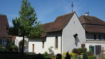Wiedereinzug St.Anna-Kapelle Therwil