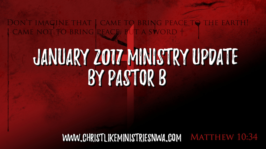 January 2017 Ministry Update