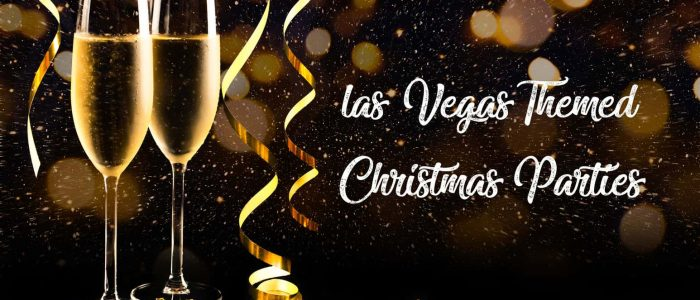 Las Vegas Themed Christmas Party