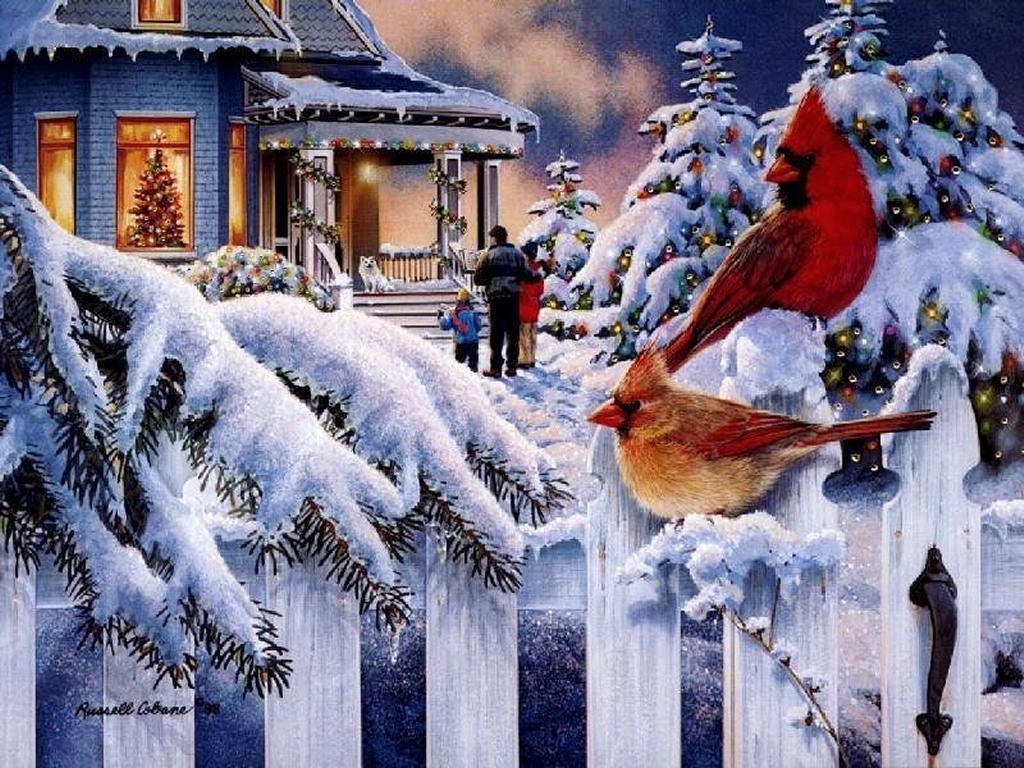 Norman Rockwell Christmas Computer Wallpaper And Screensavers