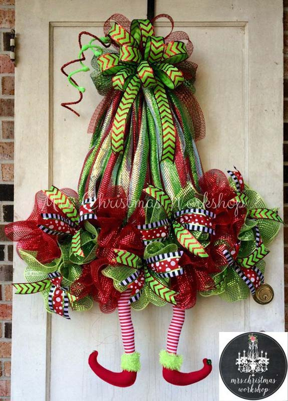 christmas wreath decorating ideas 11   Christmas Celebration   All     christmas wreath decorating ideas 11