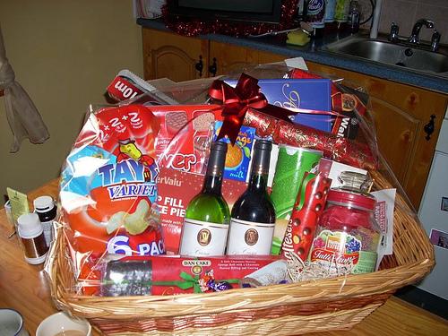 Homemade Christmas Gift Basket Ideas Christmas