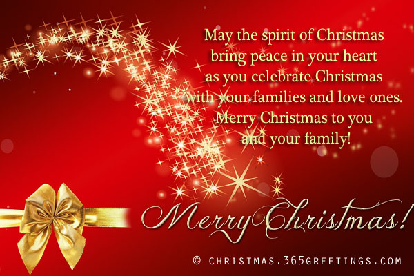 Merry Christmas Messages Christmas Celebration All