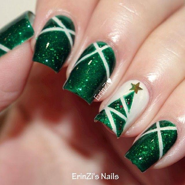 Cute Christmas Nail Art Designs 28 Source