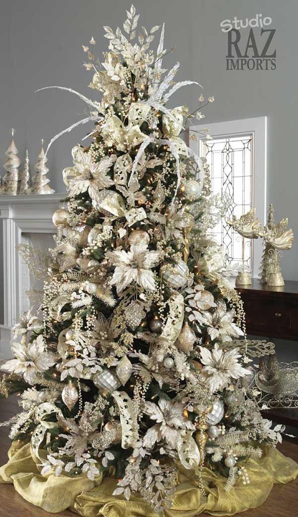 Make Christmas Tree Ribbon Bows