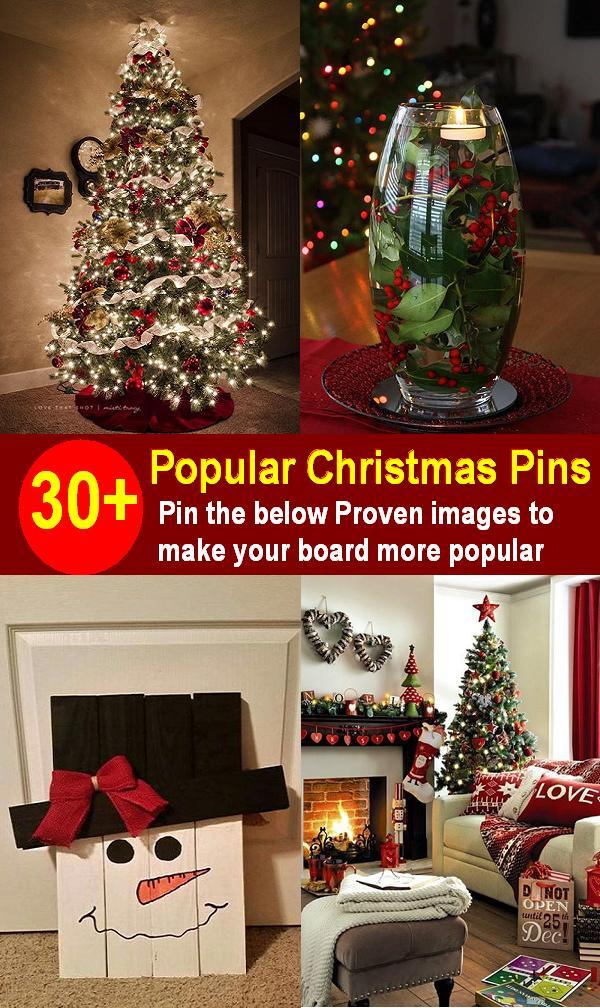 Most Popular Christmas Pins In Pinterest Christmas