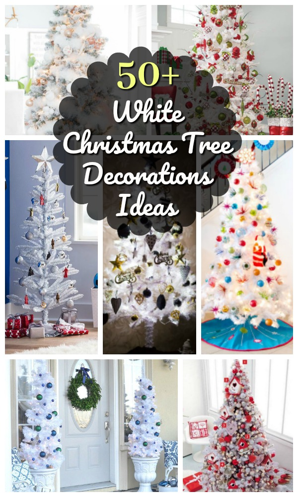 Top White Christmas Tree Decorations Christmas Celebration All About Christmas