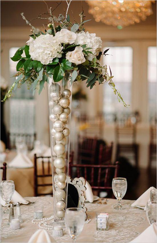 Simple Rustic Wedding Centerpieces