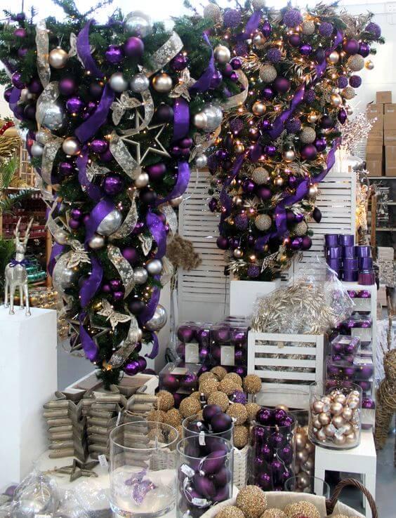 30 Beautiful Upside Down Christmas Tree Ideas Christmas