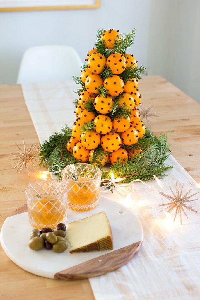 30 Homemade Christmas Table Decoration Ideas Christmas