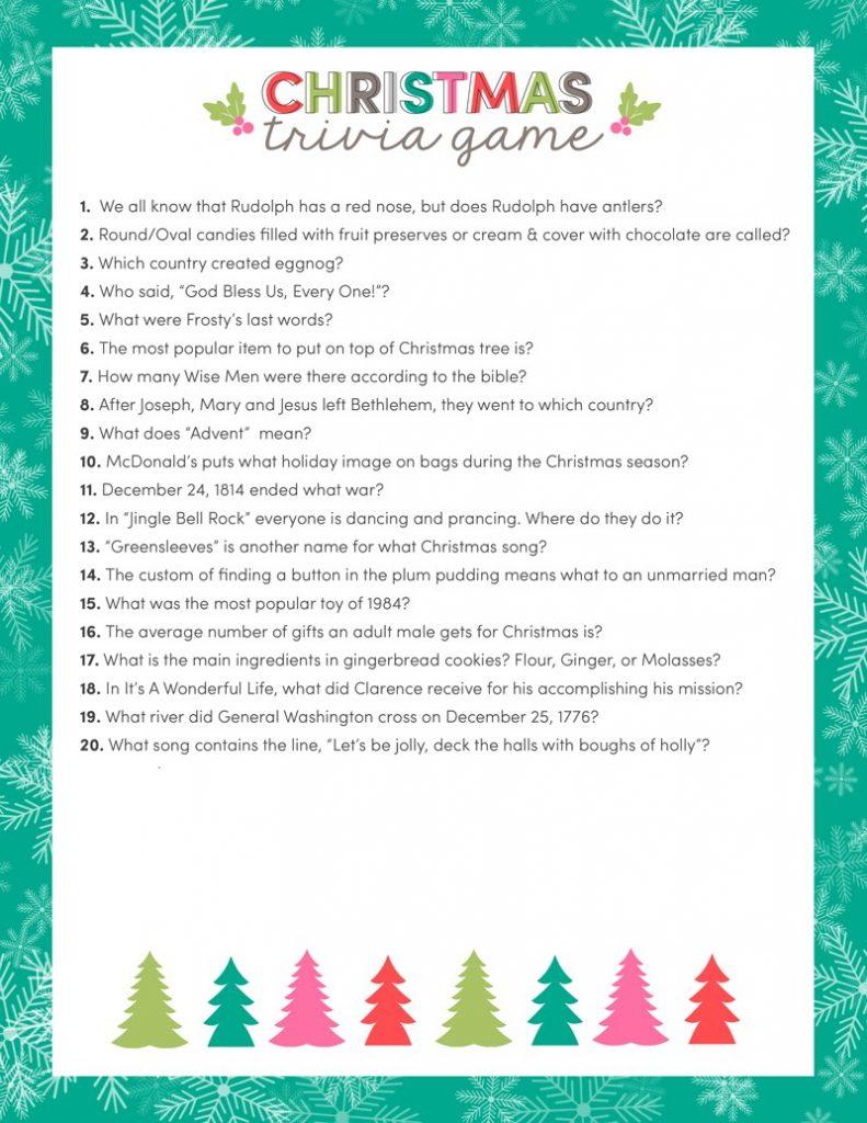 15 Fun Family Christmas Party Games Christmas