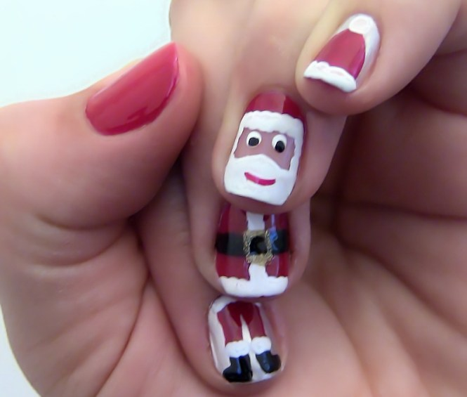 10 Best Easy Simple Christmas Tree Nail Art Designs Ideas Supplies 2016 For S Shue