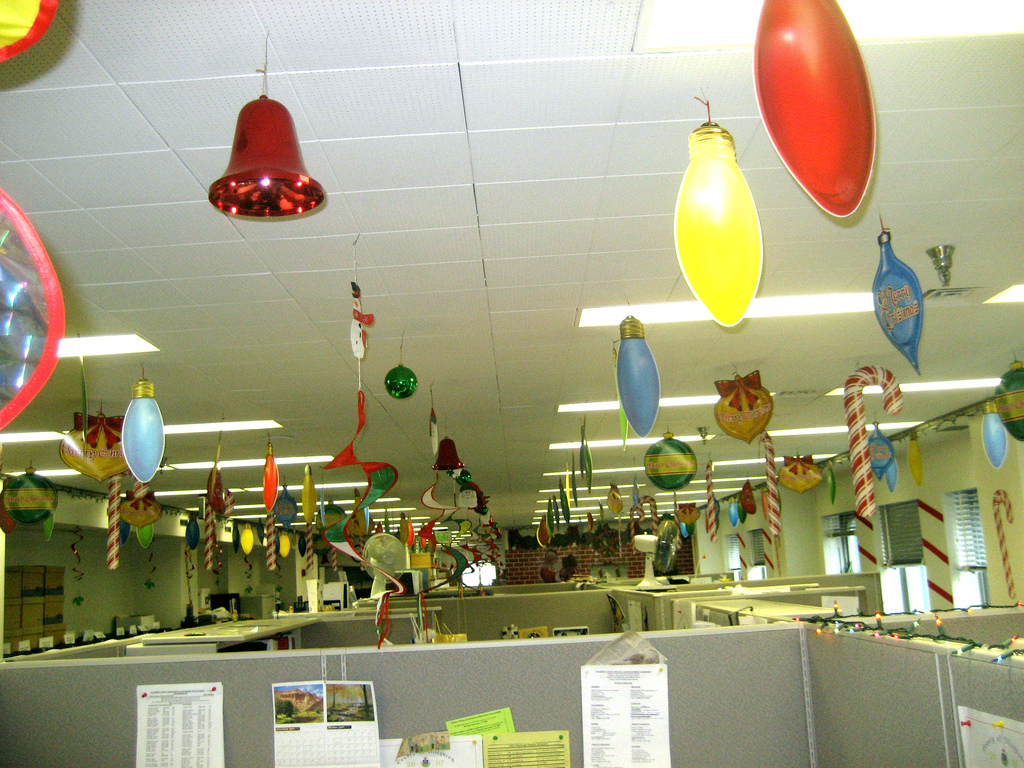 Office Decorations Christmas