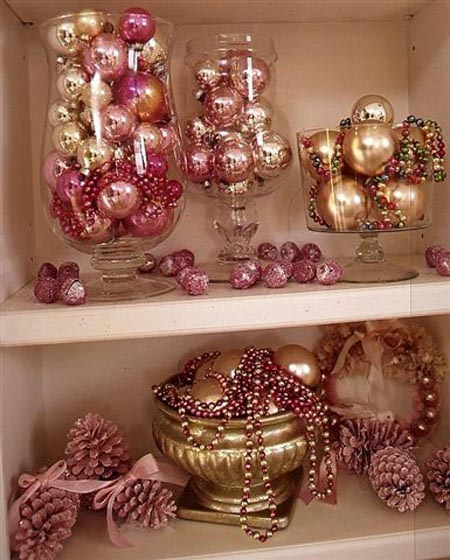 Pink Christmas Decorating Ideas All About Christmas