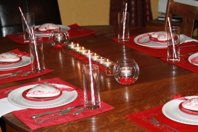 Christmas Tea Party Table Decorations