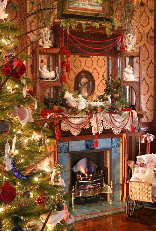 Family Room Christmas Decoration Ideas