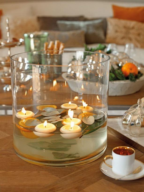 Home Decoration Idea On Fall Decorating Ideas Candles Centerpiecele