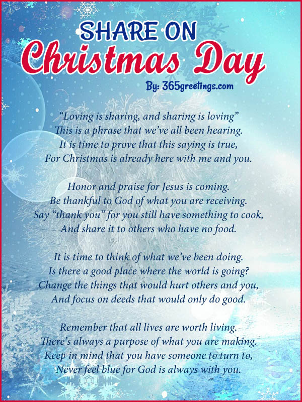 Best Christmas Poems All About Christmas