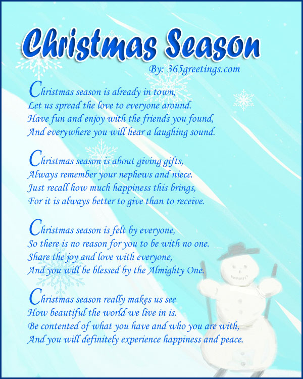 The First Day Of Christmas Poem Best Wallpapers Cloud