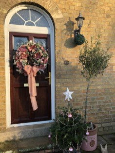 60cm Double Sided Comm Lux Christmas Wreath