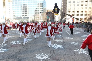 Dancers at the 2013 Ameren Missouri Thanksgiving Day Parade.
