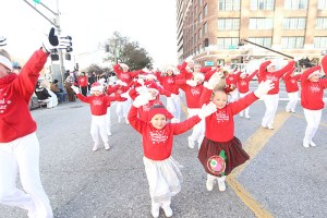 Preschool Dance Center at the 2013 Ameren Missouri Thanksgiving Day Parade.