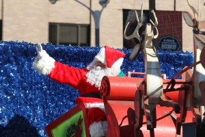 Santa Claus at the 2013 Ameren Missouri Thanksgiving Day Parade