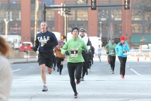 Runners during the 2013 Hungry Turkey 5k.