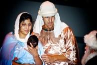 Mary Joseph Jesus & Santa