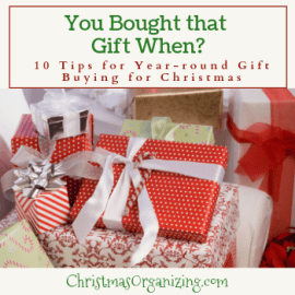 You bought that gift when