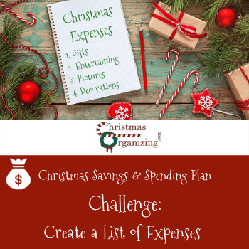 Create A List Of Expenses