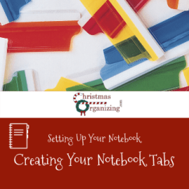 Creating Your Notebook Tabs