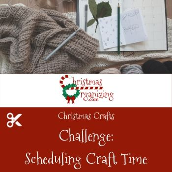 Scheduling Crafting Time