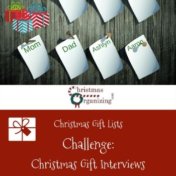 Christmas Gift Interviews