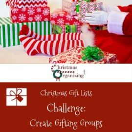 Create Gifting Groups