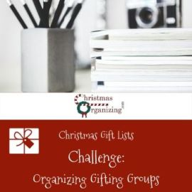 Organizing Gifting Groups