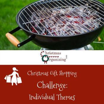 Christmas Shopping Individual Themes