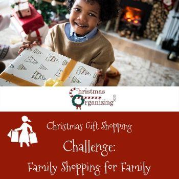 Family Shopping for Family