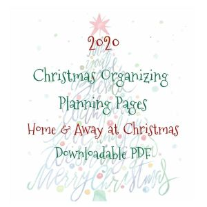 2020 Home and Away at Christmas Planning Pages