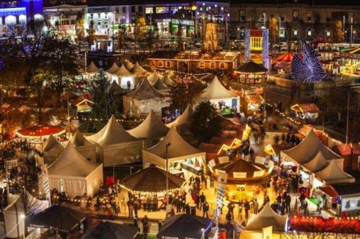 Christmas In Dublin Ireland.20 Beautiful Photos Of Christmas In Dublin Ireland