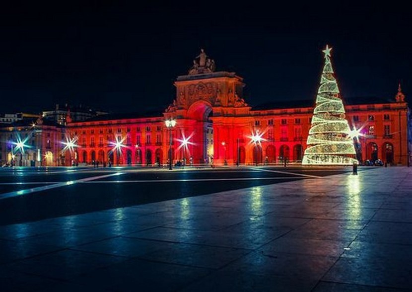 Christmas time in Lisbon, Portugal