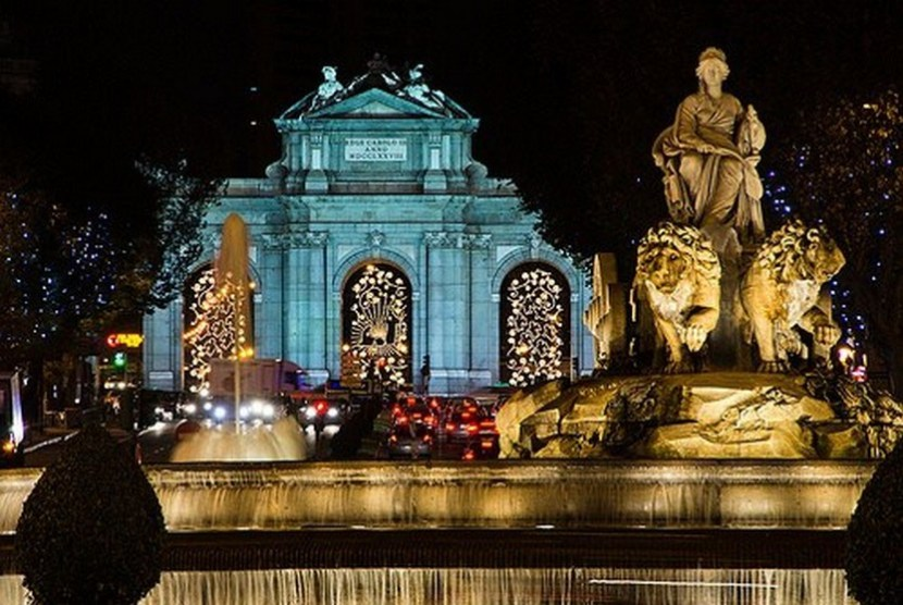Madrid Christmas – this is my Christmas this year