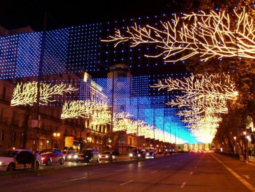 Madrid: Christmas lights