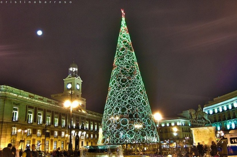 23 Beautiful Photos Of Christmas In Madrid Spain