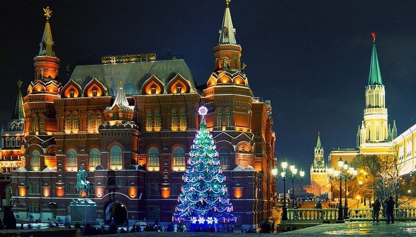 27 beautiful photos of Christmas in Moscow, Russia