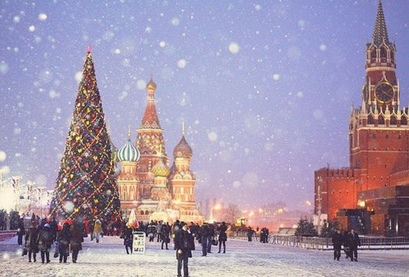 St. Basil Cathedral Moscow, Russia