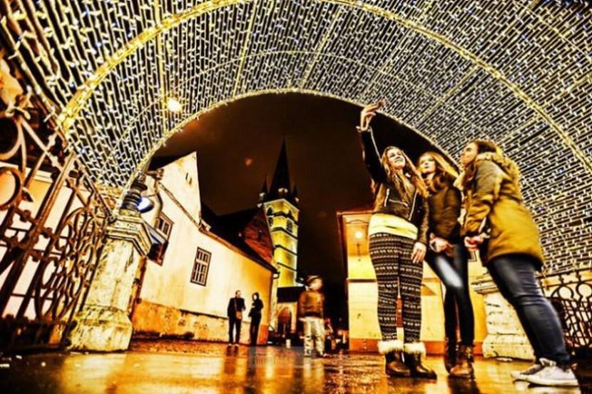 Christmas in Sibiu, Romania, 2014